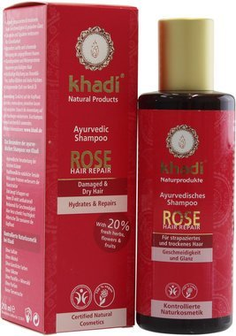 Rose Hair Repair Shampoo Khadi