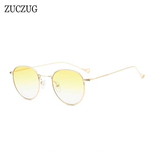 Yangjing-hl Gafas de Sol ovales Mujer Diseño de Marca Gafas ...