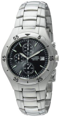 Citizen Men's AN3160-50E Chronograph Stainless Steel Watch