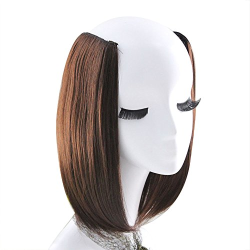 FORUU Wigs, 2019 Valentine's Day Surprise Best Gift For Girlfriend Lover Wife Party Under 5 Free delivery 1Pc 2 Clip In Hair Extensions Straight Pretty Woman Girl Wig Hair