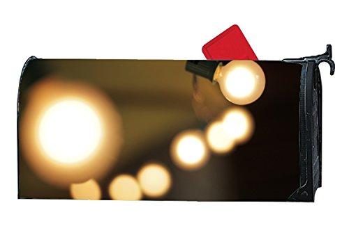 jiajufushi Attractive Mailbox Covers Illuminating Dark Light