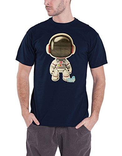 LittleBigPlanet T Shirt Astronaut Sackboy Official Mens Navy Blue ()