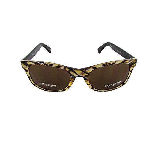 Skechers Unisex SK 4037 Fashion Sunglasses, Brown - Sunglasses 4037