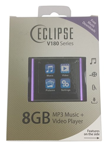 Eclipse ECLIPSE V180 PL Music Player Purple