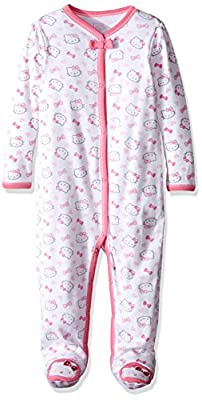 Hello Kitty Baby Girls' Core Allover Print Coverall by Weeplay Character Children's Apparel that we recomend personally.
