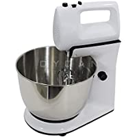 KT Trader DSP 5 Speed 300 W Stand Mixer with Rotating Bowl (White)