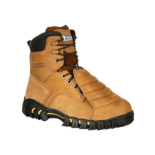 Protector Met Metálico Para Hombres Michelin 8 (st), Work Bota-xpx781