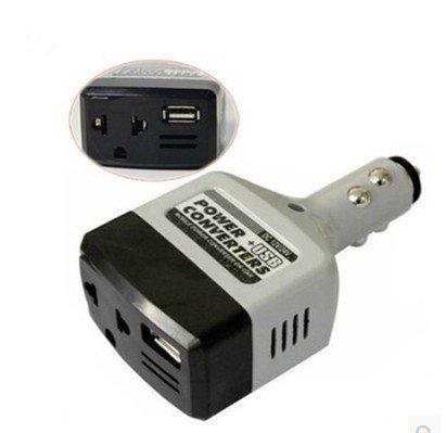 Voiture Convertisseur Convertisseur 12 V / 24 V pour 220 V Adaptateur Chargeur De Voiture Allume-Cigare Puissance + Convertisseur USB Zantec