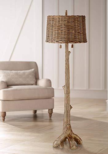Woodley Rustic Tree Floor Lamp - Barnes and Ivy