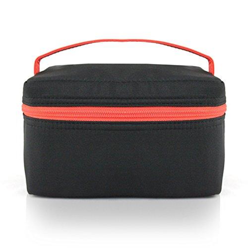 jacki-design-mama-me-collection-lunch-box-thermal-bag-black-color-and-orange-details