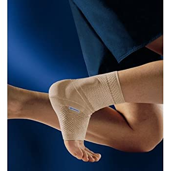 "Bauerfeind 11011102010704 Malleotrain Ankle Support, Left, Size 4, 9""-9-7/8"" Circumference, Nature"