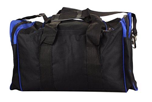 Bolsa de deporte para Mujer y Hombre / bolsa para training / Bolsa para Fitness / Bolsa de viaje en Negro/gris Negro/Azul