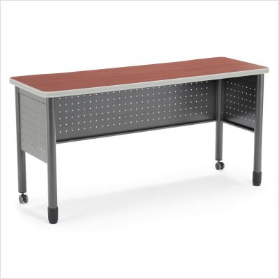 OFM 66-Series Training Table, Cherry