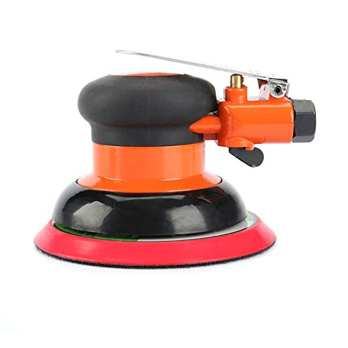 "5"" Air Random Orbital Sander,125mm Dual Action Palm Pneumatic Sander,10000 RPM"