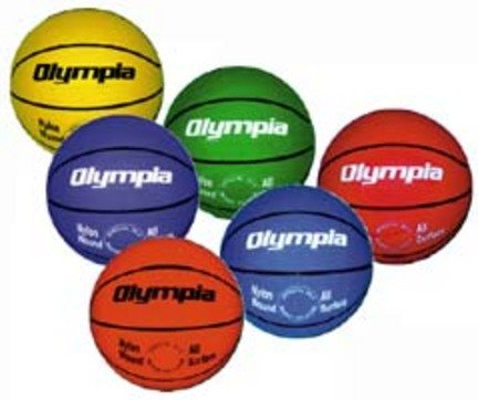 Olympia Junior Basketball - Set of 6 (1 of Each Color)