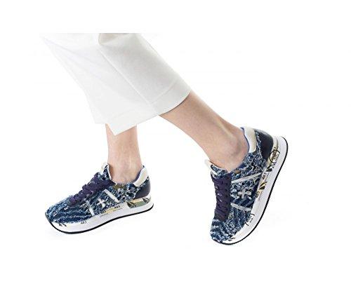 Azul Turquesa Zapatillas Para Conny Mujer Premiata BqHSX