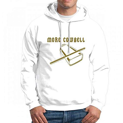 Custom More Cowbell Men's Pullover Logo Hoodie Custom Sweater]()