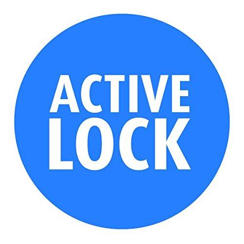 m/étal active Lock REER 46120/T-Gate Barri/ère double fixation