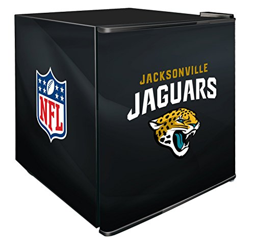 NFL Jacksonville Jaguars Refrigerated Counter Top Cooler, Small, Black by SG Merchandising Solution