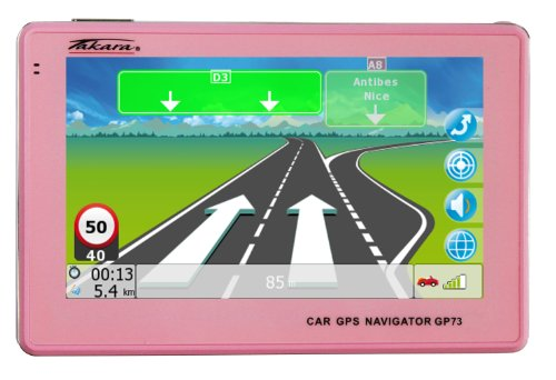 Navigation GPS TAKARA GP73 ROSE EUROPE