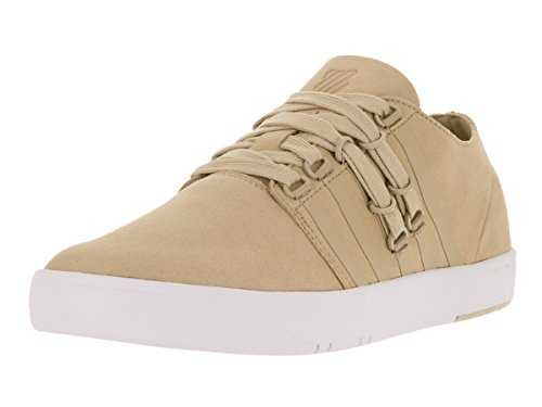K-Swiss Men's D R Cinch Lo Khaki/White Casual Shoe 9.5 Men US