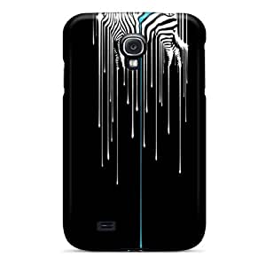 Special Design Back Zebra Melting Phone Case Cover For Galaxy S4