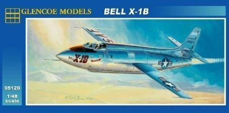 Glencoe Bell X-1B 1:48 Scale Military Model Kit