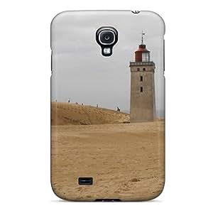 New Arrival XRs1210mgPu Premium Galaxy S4 Case(lighthouse On A Beach In Denmark)