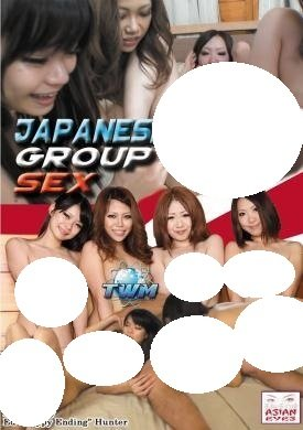 Japanes group sex photos with you