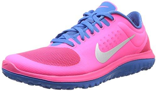 Nike FS Lite run - Zapatillas de running unisex Pink (Hyper Pink/Metallic Silver/Blueightz Blue)