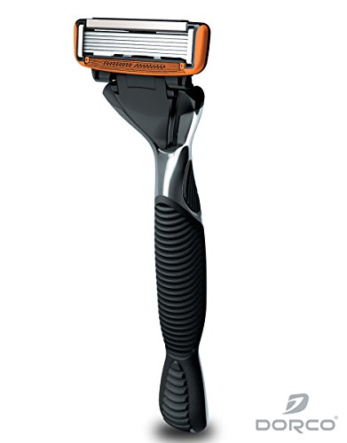 Dorco Pace 6- Six Blade Razor Blade System - 1 Handle 2...