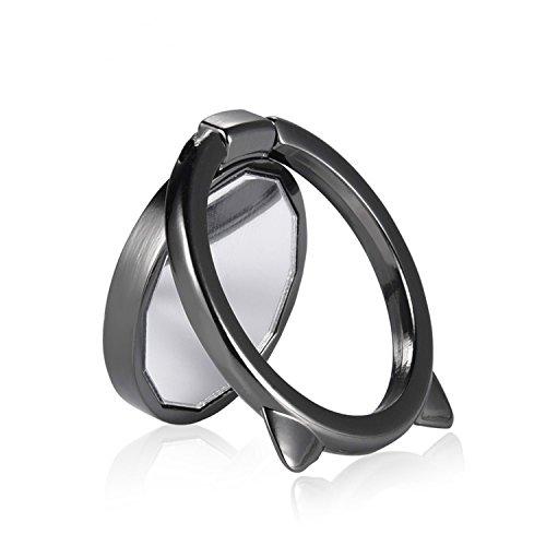 CHOETECH Soporte de Anillo Universal Anillo Soporte Celular Soporte Creativo con Espejo para Smartphone/Kickstand, Rotación...