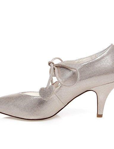 talons 3 mariage ivory 3in Habillé 4in Chaussures De argent Mariage 3 Evénement Ggx talons homme amp; Soirée wn6qFvwIx