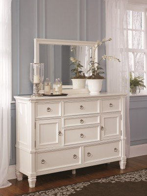 cottage style white prentice bedroom dresser - White Bedroom Dresser