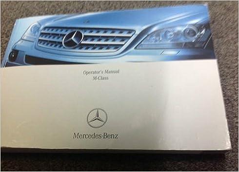 mercedes ml320 user manual