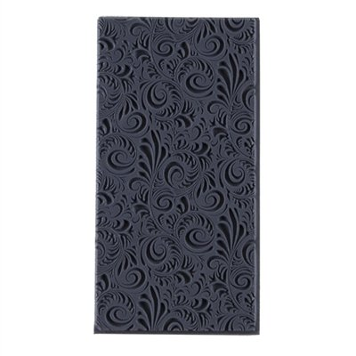 Cool Tools Flexible Texture Tile Plume Embossed 4 X 2