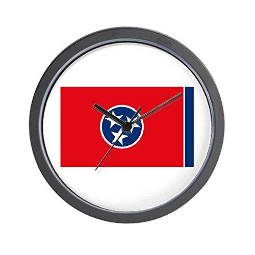 CafePress - Tennessee Flag Wall Clock - Unique Decorative 10
