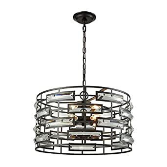 Light Visions 44063-6 Contemporary Pendants Oiled Rubbed Bronze