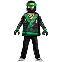 Lloyd LEGO Ninjago Movie Classic Costume, Green, Small (4-6)