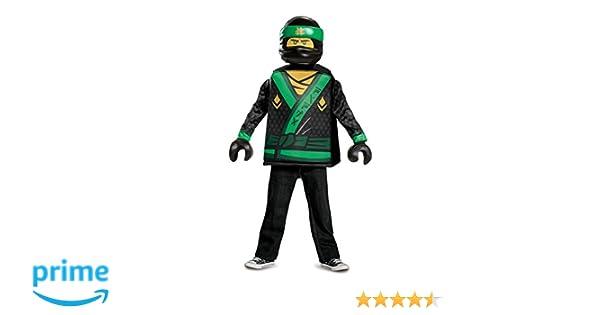 LEGO Ninjago Movie 23474l PK1 Lloyd Ninjago Movie Classic S (4 – 6 J.), joven, Verde, 109 – 126 cm