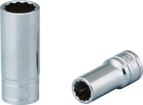 KTC(ケーテーシー) 9.5mm (3/8インチ) セミディープソケット (十二角) 5.5mm B3M055W