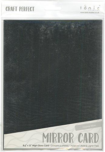 Tonic Studios 9452E Mirror Glossy Cardstock 8.5