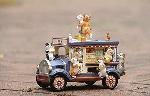 oferta de tienda CFHJN Home Cochetoon Milk Coche Cat Dancing Music Box para para para Regalo de cumpleaños y decoración de Boda Juguete Interesante  tienda en linea