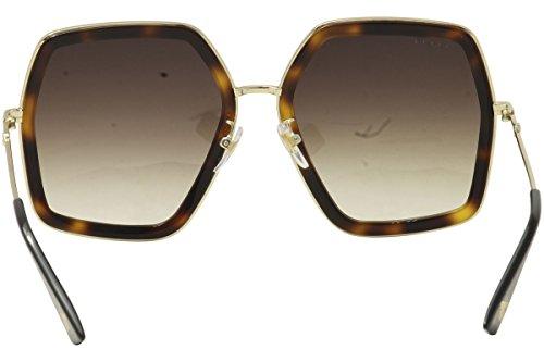 gucci 0106s. sunglasses gucci gg 0106 s- 002 avana / brown gold 0106s i