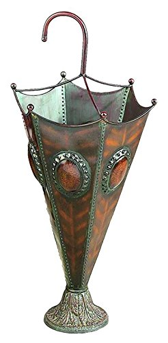 Deco 79 Metal Umbrella Stand Decorative Vase