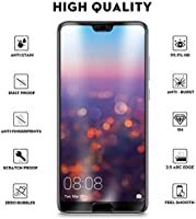 Tempered Glass Screen Protector for Huawei P20 Pro, Black