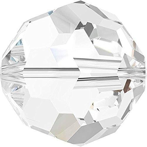 5000 Swarovski Crystal Beads Round Crystal | 2mm - Pack of 1440 (Wholesale) | Small & Wholesale Packs | Free Delivery ()