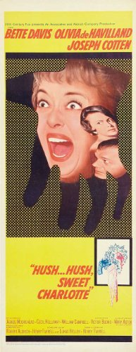 Hush Hush, Sweet Charlotte POSTER Movie (14 x 36 Inches - 36cm x 92cm) (1964) (Insert Style A)