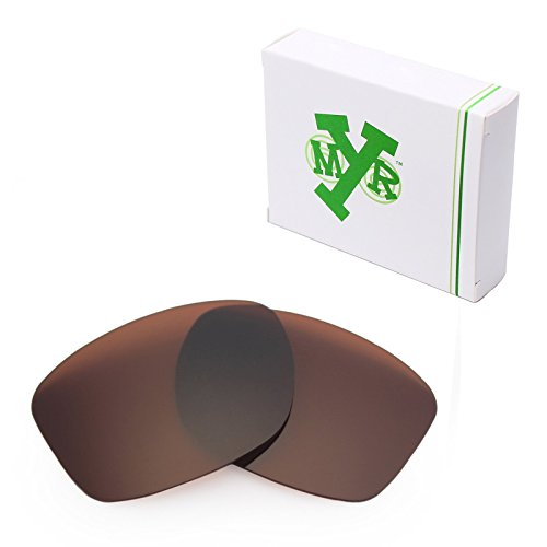 Sunglasses Replacement Lenses Bronze Mirror (Mryok Polarized Replacement Lenses for Oakley Jupiter Squared - Bronze Brown)
