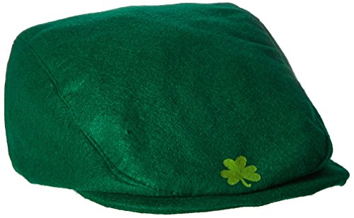 St Pat's Cap Party Accessory (1 count) (Lucky Leprechaun Adult Costumes)